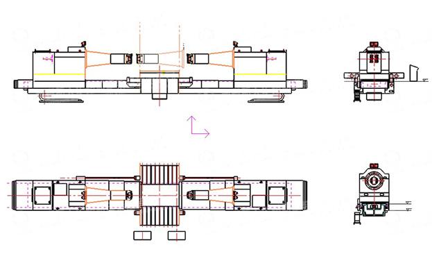 t616镗床电路图